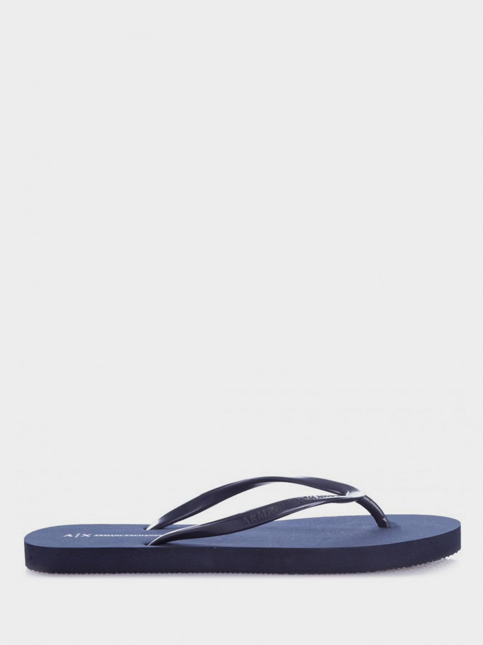 Шльопанці жіночі Armani Exchange FLIP FLOP PVC+EVA XDQ001-XCC10-00285 - фото