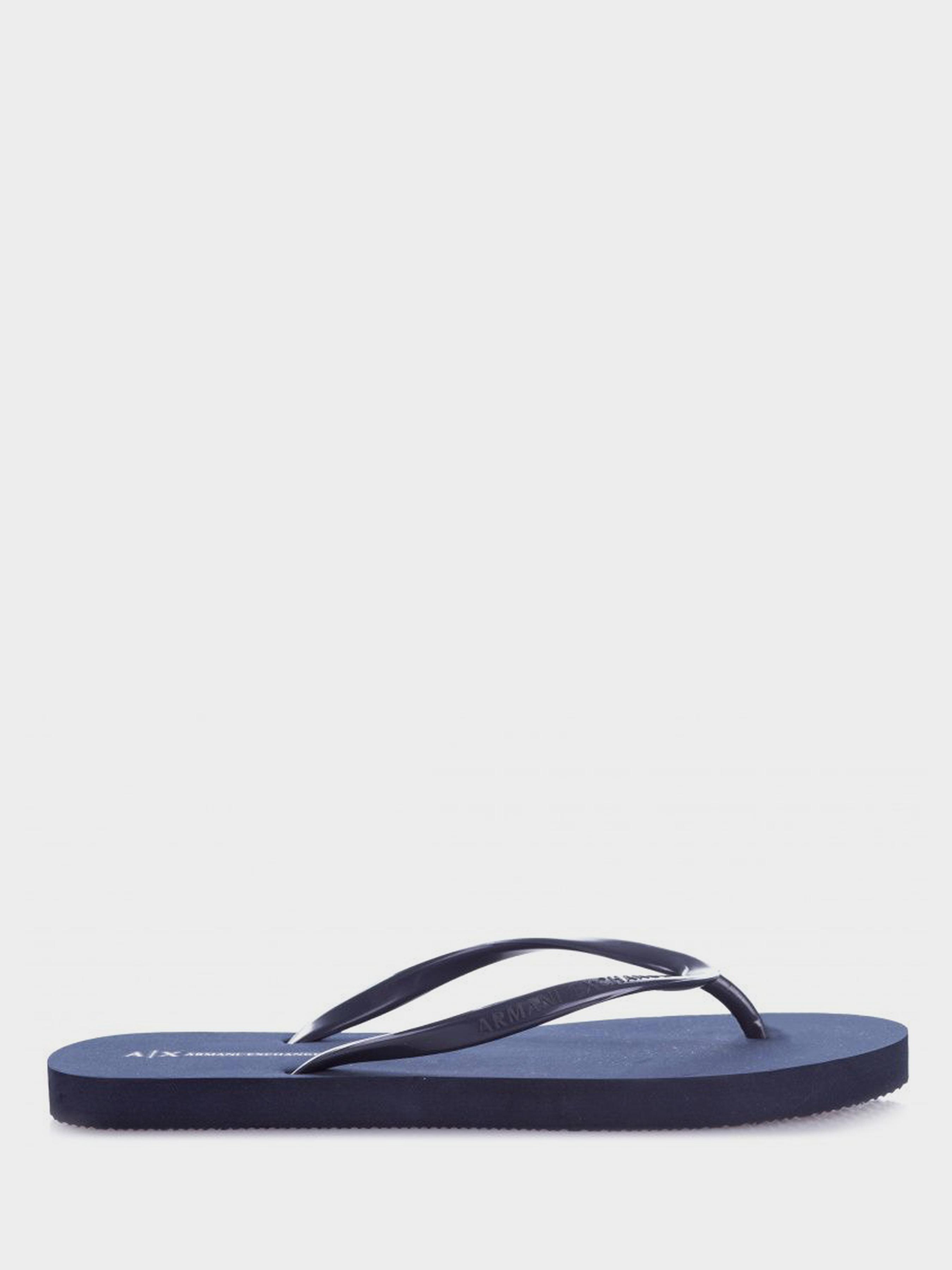 Вьетнамки для женщин Armani Exchange FLIP FLOP PVC+EVA WD76 размерная сетка обуви, 2017