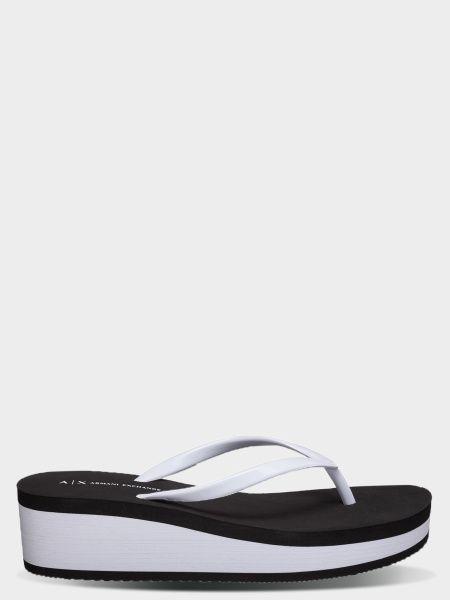 Вьетнамки для женщин Armani Exchange FLIP FLOP PVC+EVA WD87 размерная сетка обуви, 2017