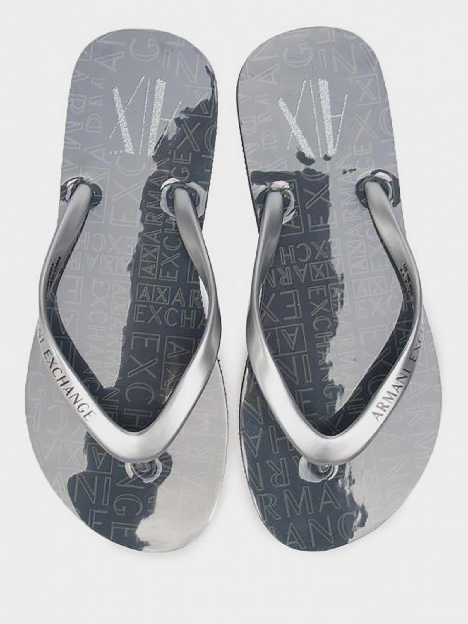 Шльопанці  для жінок Armani Exchange XDQ004-XV146-00520 розмірна сітка взуття, 2017