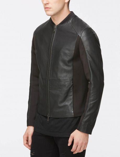 Куртка для мужчин Armani Exchange MAN LEATHER BLOUSON JACKET WH1003 размеры одежды, 2017