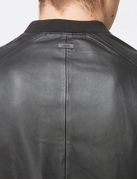 Куртка для мужчин Armani Exchange MAN LEATHER BLOUSON JACKET WH1003 цена, 2017