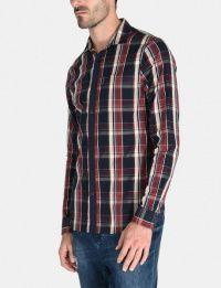 Рубашка с длинным рукавом мужские Armani Exchange модель WH1020 качество, 2017