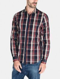 Рубашка с длинным рукавом мужские Armani Exchange модель WH1020 цена, 2017