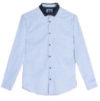 Рубашка с длинным рукавом мужские Armani Exchange модель 6YZC13-ZN49Z-0567 качество, 2017