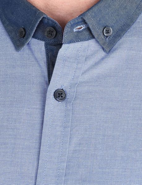 Рубашка с длинным рукавом мужские Armani Exchange MAN DENIM SHIRT WH1025 брендовые, 2017