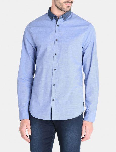Рубашка с длинным рукавом мужские Armani Exchange MAN DENIM SHIRT WH1025 размеры одежды, 2017