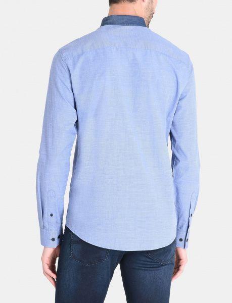 Рубашка с длинным рукавом мужские Armani Exchange MAN DENIM SHIRT WH1025 купить онлайн, 2017