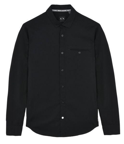 Рубашка с длинным рукавом мужские Armani Exchange MAN WOVEN SHIRT WH1027 примерка, 2017