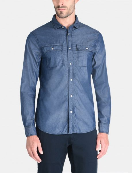 Armani Exchange Рубашка с длинным рукавом мужские модель WH1032 цена, 2017