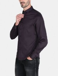 Рубашка с длинным рукавом мужские Armani Exchange модель WH1035 качество, 2017