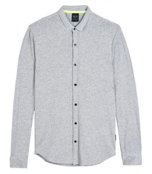 Рубашка с длинным рукавом для мужчин Armani Exchange MAN JERSEY SHIRT WH1037 размеры одежды, 2017