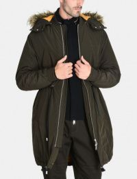 Пальто мужские Armani Exchange модель WH1080 , 2017