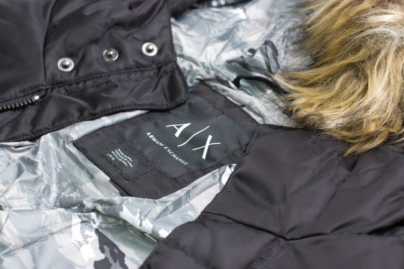 Куртка пуховая мужские Armani Exchange MAN WOVEN DOWN JACKET WH1091 цена, 2017