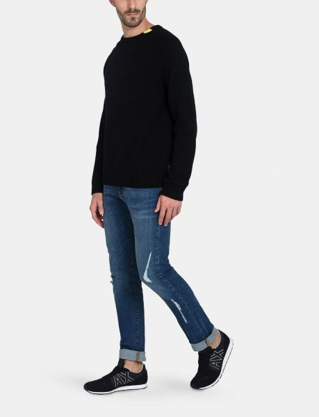 Пуловер для мужчин Armani Exchange MAN KNITWEAR PULLOVER WH1106 продажа, 2017