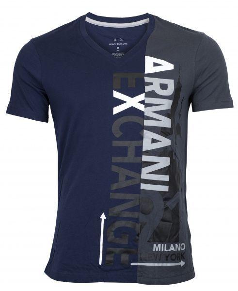 Купить Футболка мужские модель WH1237, Armani Exchange, Синий