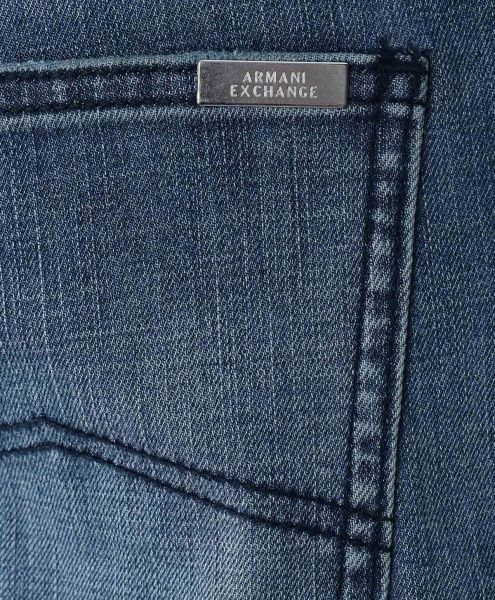 Джинсы мужские Armani Exchange MAN 5 POCKETS PANT WH1376 примерка, 2017