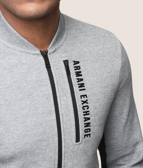 Кофта спорт мужские Armani Exchange MAN JERSEY SWEATSHIRT WH1383 одежда бренда, 2017