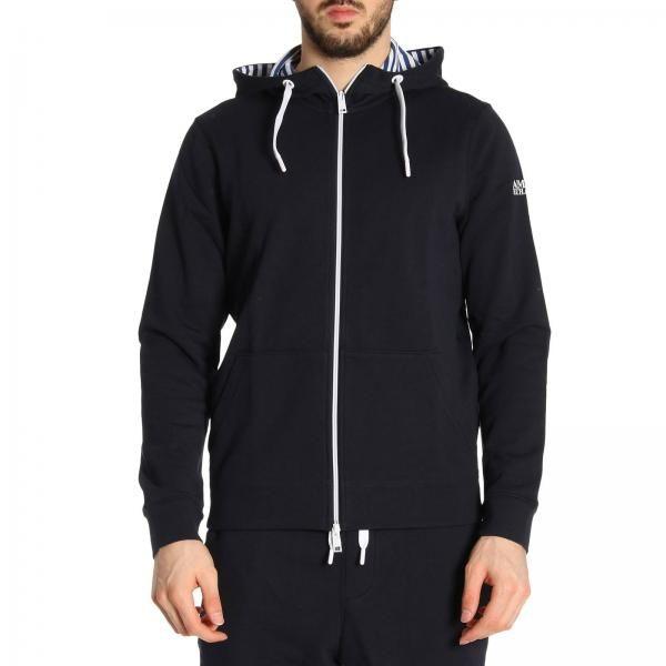 Кофта спорт для мужчин Armani Exchange MAN JERSEY SWEATSHIRT WH1384 размерная сетка одежды, 2017