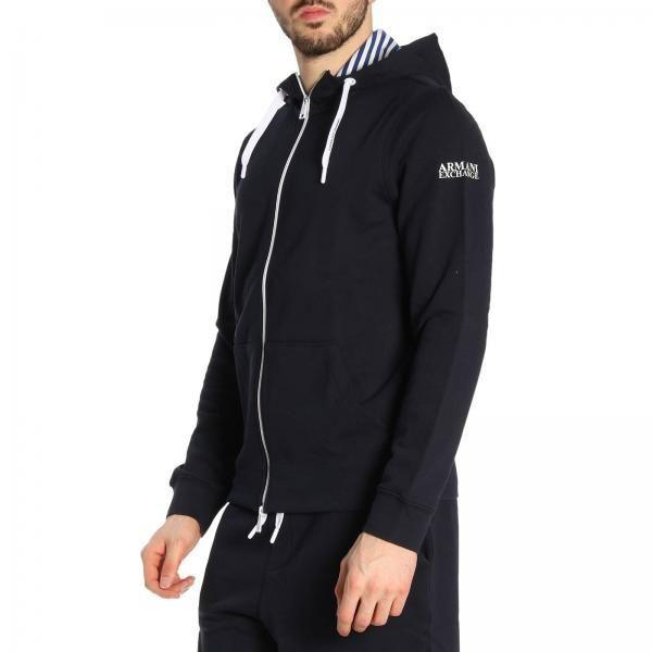 Кофта спорт для мужчин Armani Exchange MAN JERSEY SWEATSHIRT WH1384 размеры одежды, 2017