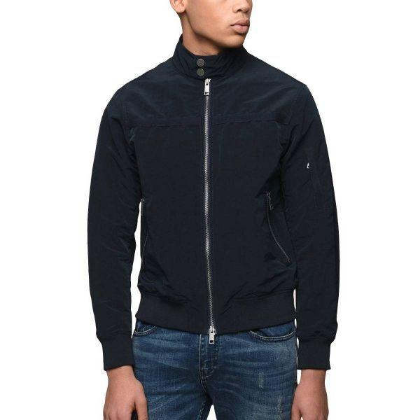 a68dcd551a05c INTERTOP Куртка мужские модель WH1391, Armani Exchange, Синий - купить со  скидкой