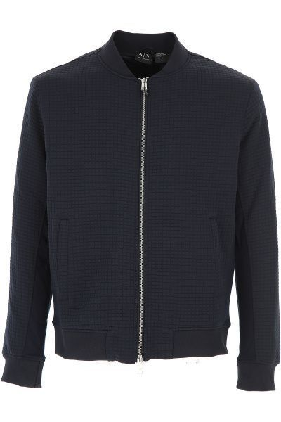 Куртка мужские Armani Exchange MAN JERSEY BLOUSON JACKET WH1406 брендовая одежда, 2017