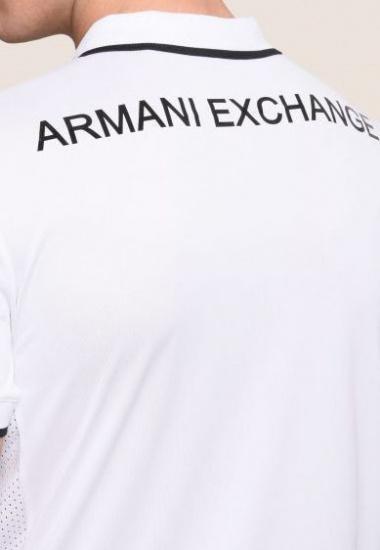 Поло мужские Armani Exchange модель 3ZZF81-ZJL1Z-1100 приобрести, 2017
