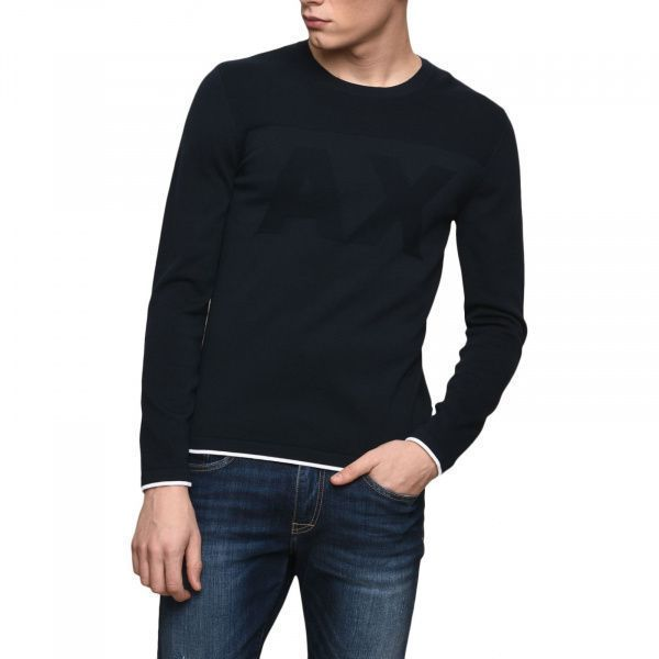 Пуловер для мужчин Armani Exchange MAN KNIT PULLOVER WH1443 цена, 2017
