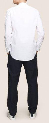 Рубашка с длинным рукавом для мужчин Armani Exchange MAN SHIRT WH1452 цена, 2017