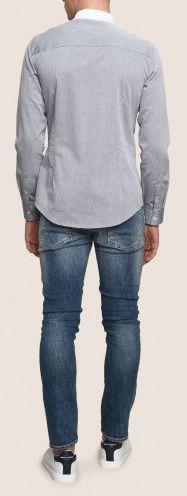 Рубашка с длинным рукавом мужские Armani Exchange модель WH1456 отзывы, 2017