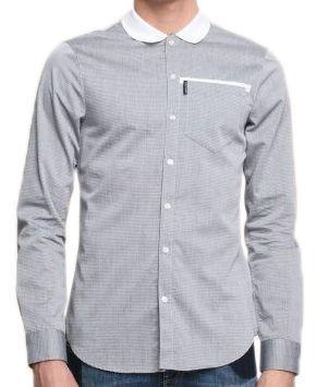 Рубашка с длинным рукавом для мужчин Armani Exchange MAN SHIRT WH1456 размеры одежды, 2017