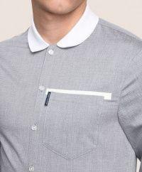 Рубашка с длинным рукавом мужские Armani Exchange модель WH1456 качество, 2017