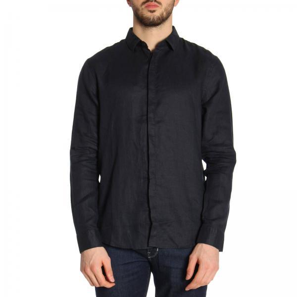 Рубашка с длинным рукавом мужские Armani Exchange модель WH1458 отзывы, 2017