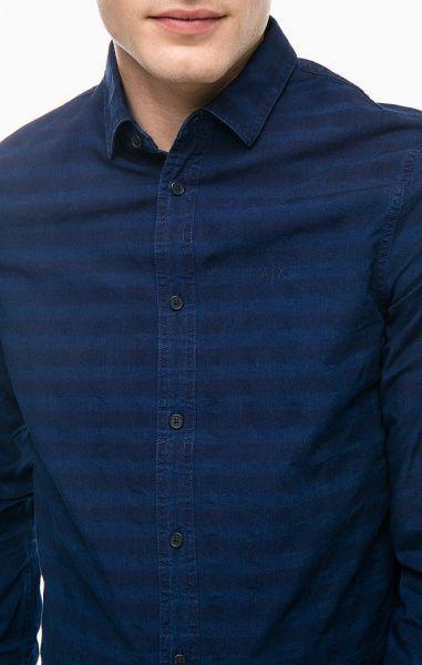 Рубашка с длинным рукавом мужские Armani Exchange модель WH1462 качество, 2017