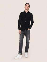 Рубашка с длинным рукавом мужские Armani Exchange модель 3ZZC78-ZJM5Z-1200 купить, 2017