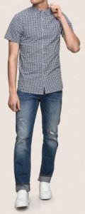 Рубашка с коротким рукавом мужские Armani Exchange модель WH1467 качество, 2017