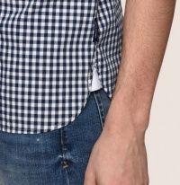 Рубашка с коротким рукавом мужские Armani Exchange модель WH1467 цена, 2017