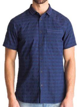 Рубашка с коротким рукавом для мужчин Armani Exchange MAN SHIRT WH1468 цена, 2017