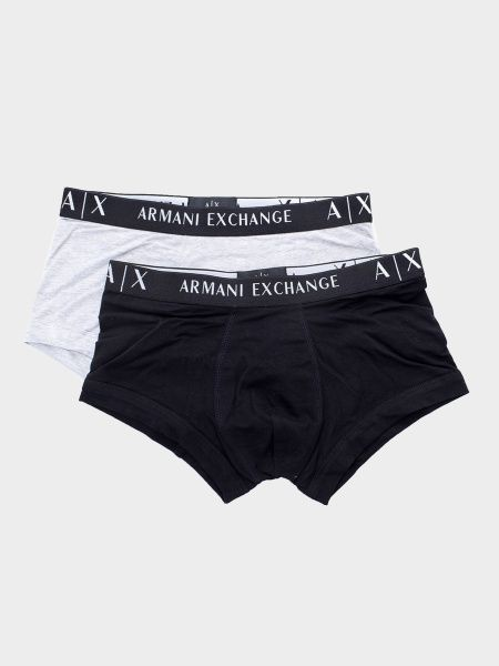 Нижнее белье мужские Armani Exchange MAN KNIT 2-PACK BOXER SET WH1476 размеры одежды, 2017
