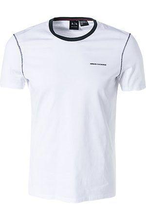 Купить Футболка мужские модель WH1482, Armani Exchange, Белый