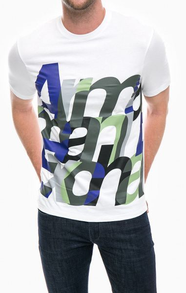 Футболка для мужчин Armani Exchange MAN JERSEY T-SHIRT WH1496 брендовая одежда, 2017