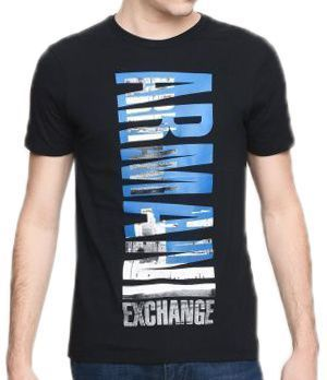 Футболка для мужчин Armani Exchange MAN JERSEY T-SHIRT WH1522 фото, купить, 2017