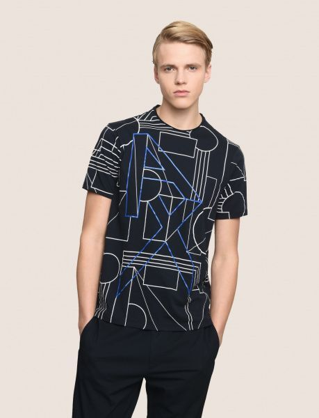 Футболка для мужчин Armani Exchange MAN JERSEY T-SHIRT WH1546 брендовая одежда, 2017