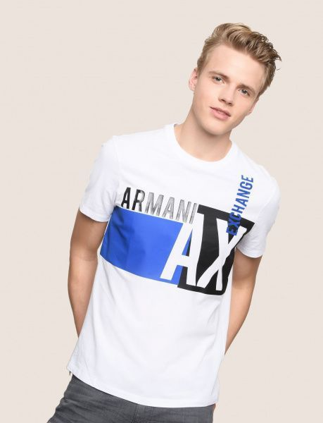 Футболка для мужчин Armani Exchange MAN JERSEY T-SHIRT WH1548 фото, купить, 2017