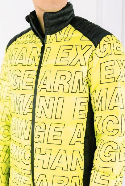 Куртка пуховая мужские Armani Exchange модель WH1773 , 2017