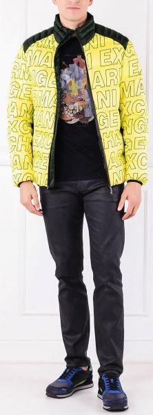 Куртка пуховая мужские Armani Exchange модель WH1773 приобрести, 2017