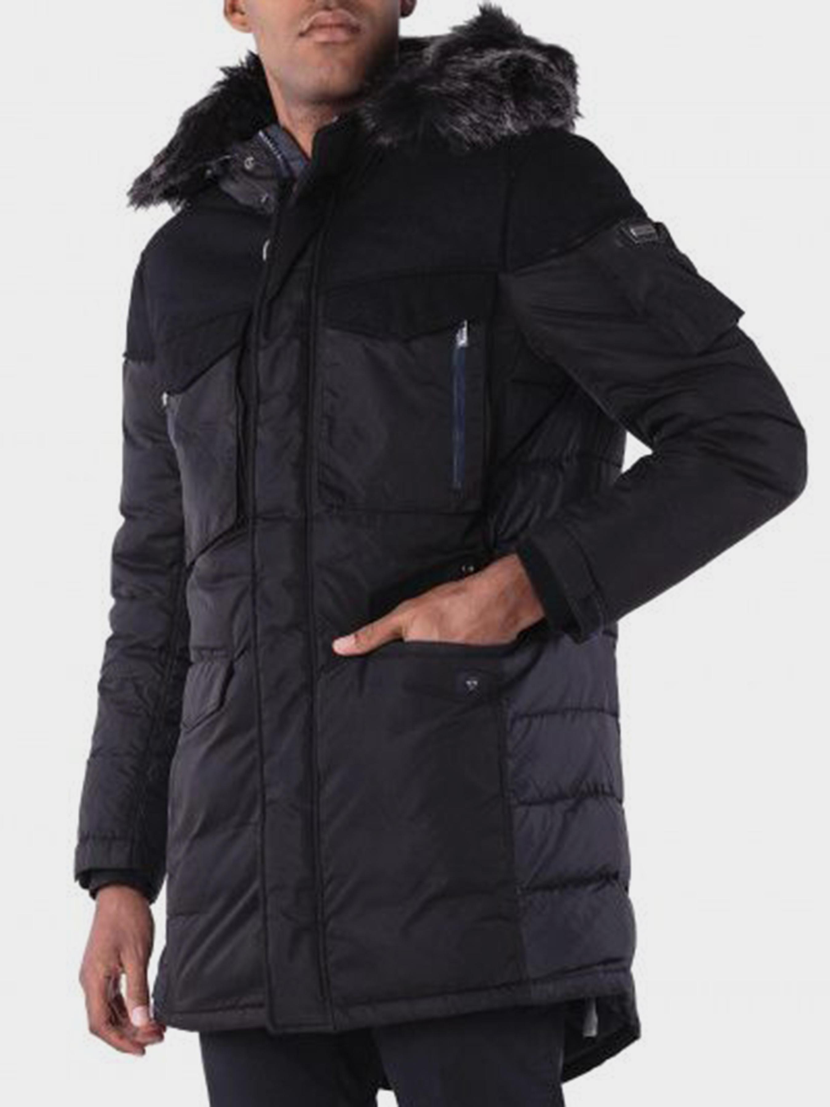 Пальто пуховое мужские Armani Exchange модель WH1815 приобрести, 2017