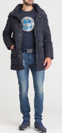 Пальто мужские Armani Exchange модель 6ZZL17-ZNKGZ-1510 купить, 2017
