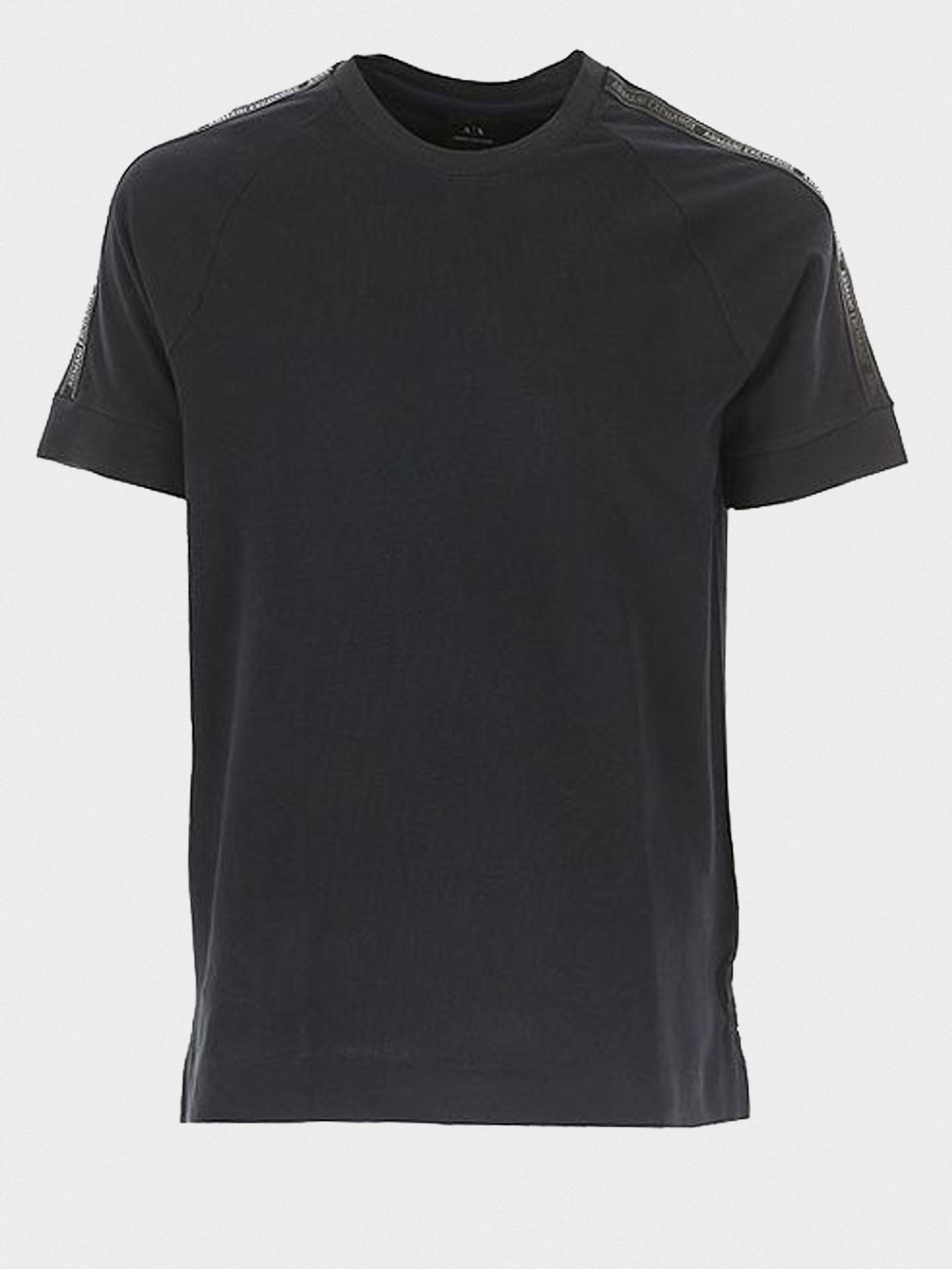 Купить Футболка мужские модель WH1851, Armani Exchange, Черный