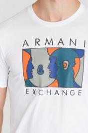 Футболка мужские Armani Exchange модель 6ZZTAQ-ZJA5Z-1100 купить, 2017